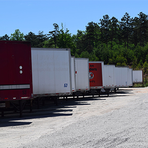 storage trailers in Atlanta